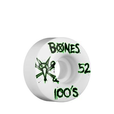 Bones 100's ruote skate 52mm