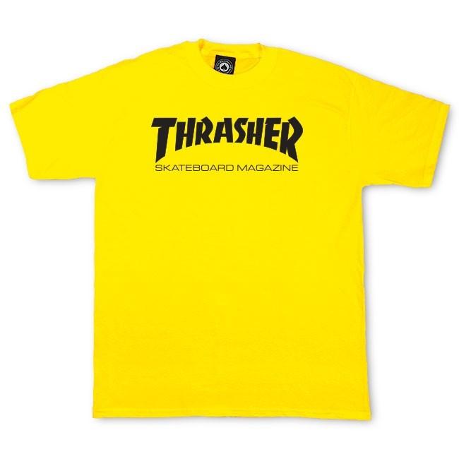 Maglietta Thrasher classic magazine yellow