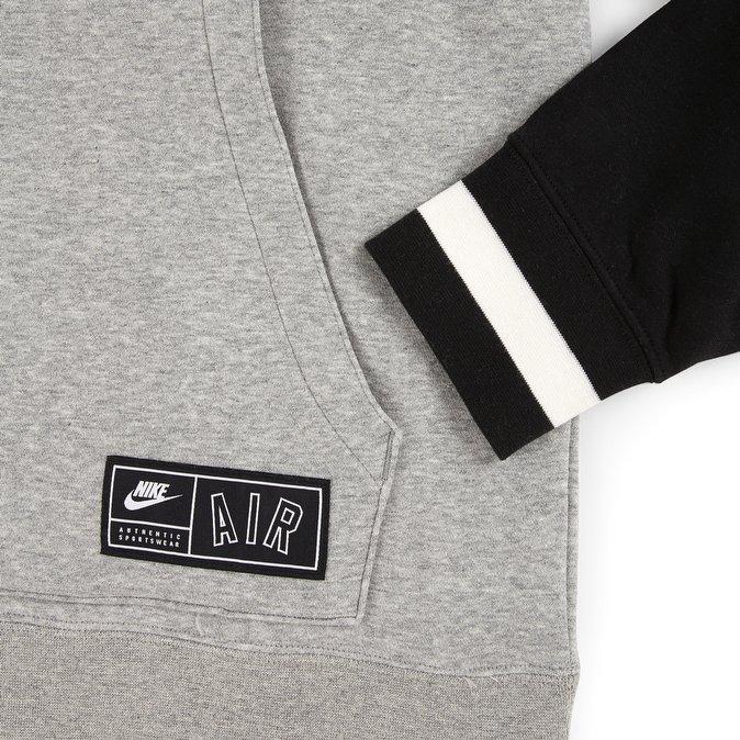 felpa nike dark grey heather hoodie