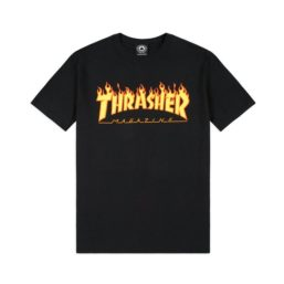 THRASHER TS FLAME BLACK