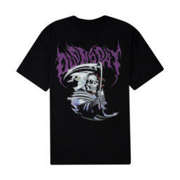 DOOMSDAY CHROMO REAPER TEE SHIRT BLACK BACK